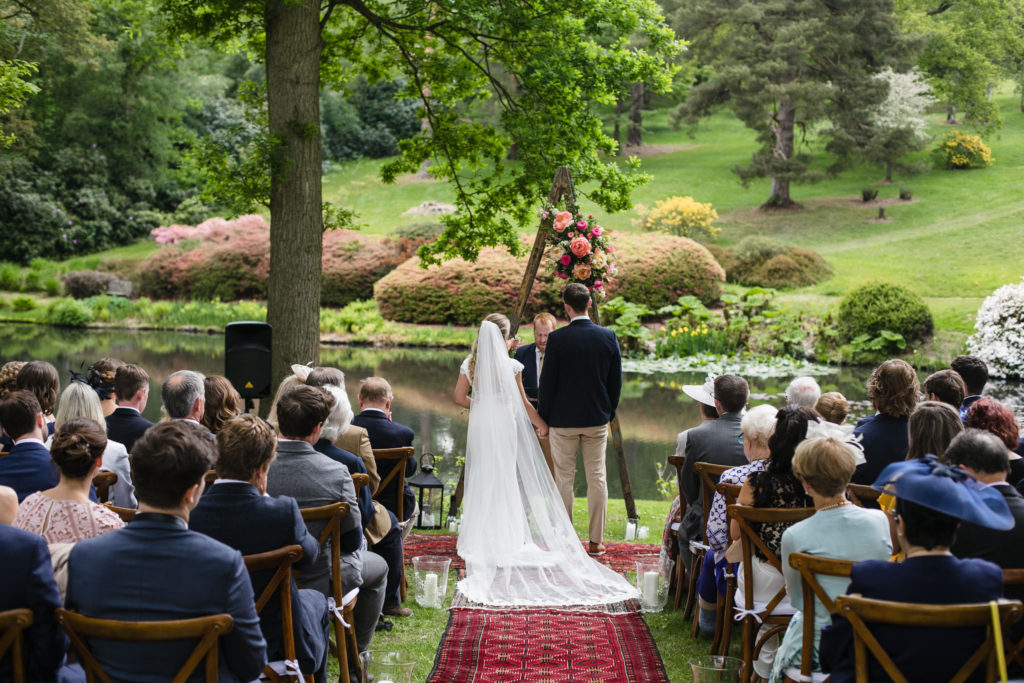 Lakeside wedding at The Hyde Estate