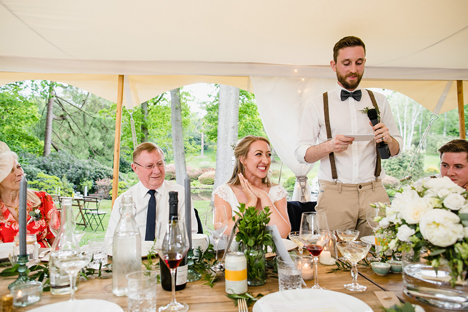 Hyde Estate Marquee Wedding